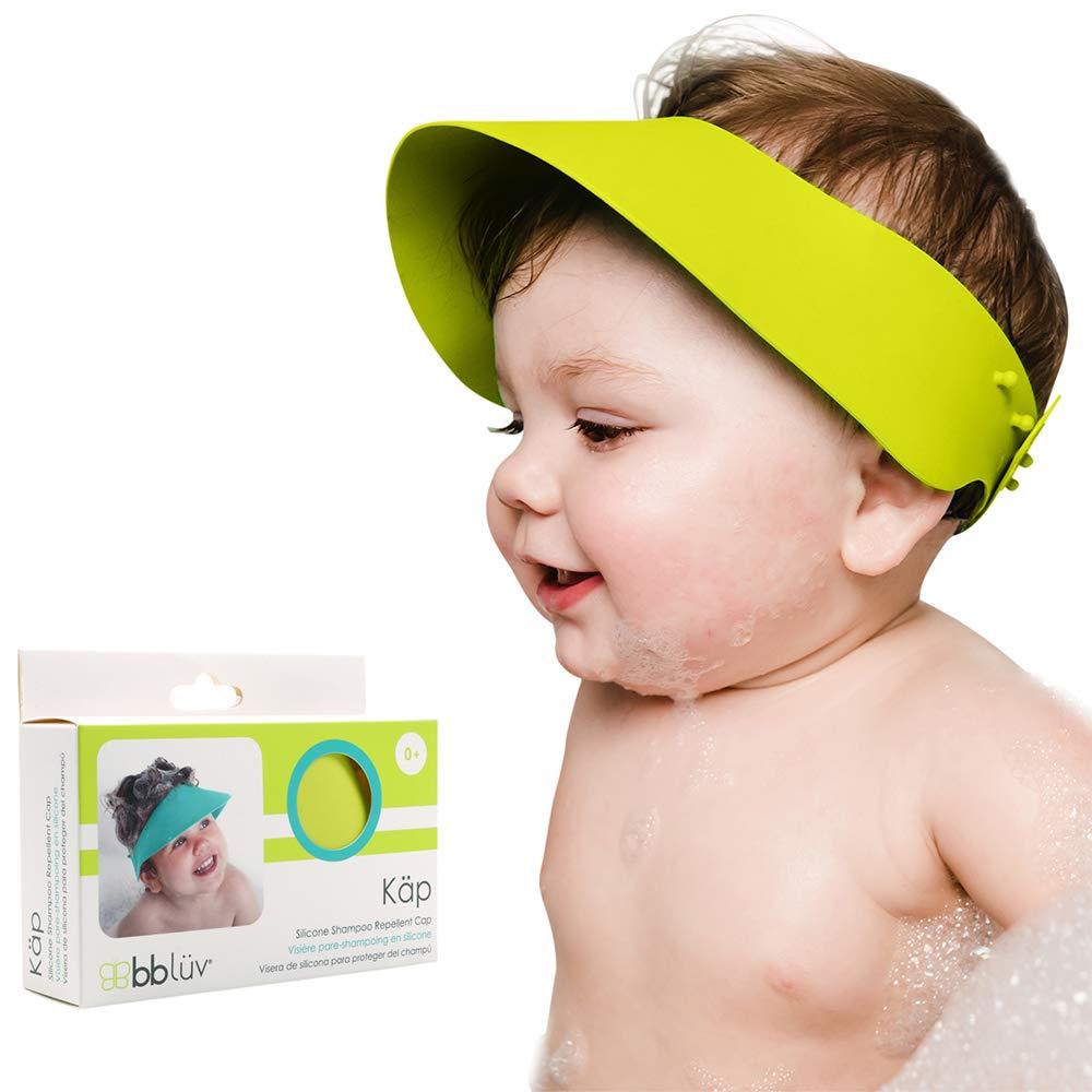 bblüv - Käp - Silicone Shampoo Repellent Cap - No More Tears (Lime)