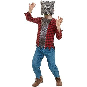 Smiffys 50789M - Disfraz de hombre lobo para niños (talla M, 7-9 ...