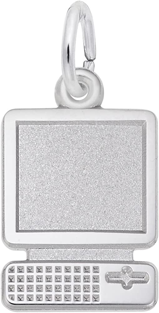 Computer Charm Cheap super special price Charms Sacramento Mall for Bracelets Necklaces and