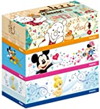 クリネックス ティシュー ディズニーキャラクター 袋3箱