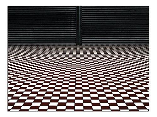 JP London lösungsmittelfrei Poster Kunstdruck PAP1X 675242die Hypnotic Boden Schachbrett Vintage Geometrische fertig zum Rahmen Wand 61cm H By 45,7cm W