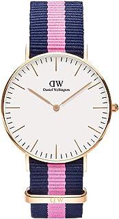 Daniel Wellington Classic Winchester Watch, Multicolor NATO Band