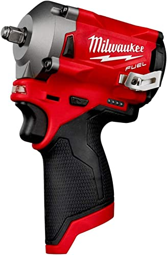 """M12 Fuel Stubby 3/8"""" Impact Wrench (Bare Tool)"""