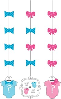 Creative Converting 997041 Bow or Bowtie Hanging Cutouts