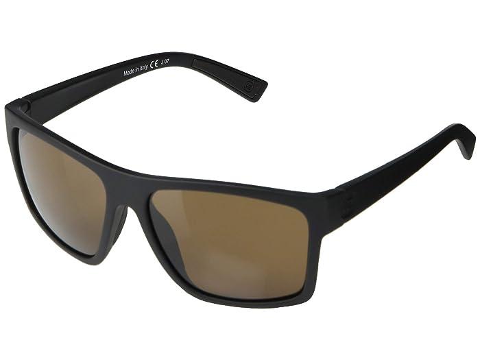 VonZipper  Dipstick (Black Soft Satin Bronze) Fashion Sunglasses