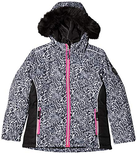 Dare 2b Unisex-Kinder-Skijacke, wasserdicht und atmungsaktiv, isoliert XL Schwarz