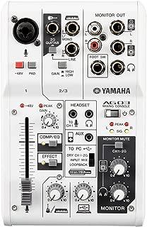 YAMAHA 雅马哈 AG03 带声卡调音台