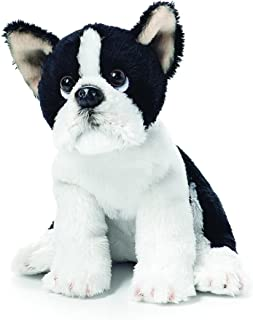 Black and White Boston Terrier Childrens Plush Beanbag Stuffed Animal Toy