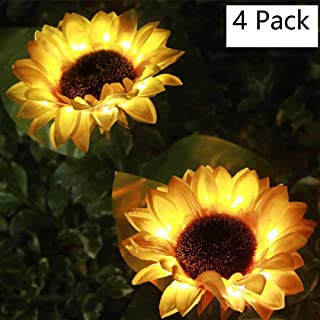 $55 » Jennyfly Solar Lights Outdoor(4 Pack), Waterprrof Solar Powered Lights Flower Decorative Light Outdoor Led Garden Landscape Lighting Light for Garden Patio Yard Pathway Decoration - 4 Pcs
