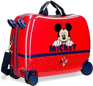 Maleta Infantil Happy Mickey con Ruedas multidireccionales