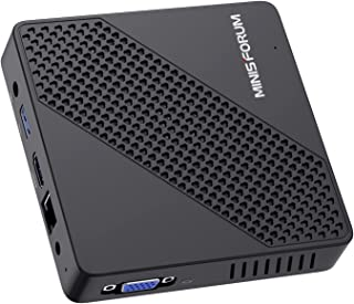 Mini PC Fanless Intel Celeron N4020 (tot 2,8 GHz) 4 GB DDR4 / 64 GB eMMC Mini-desktopcomputer Windows 10 HDMI 2.0 en VGA-p...