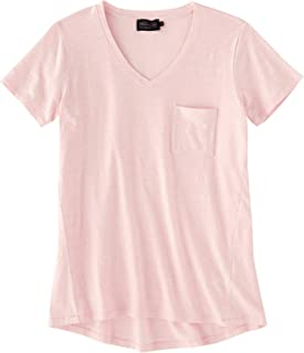 Pendleton Women's V-Neck Pocket Cotton Tee