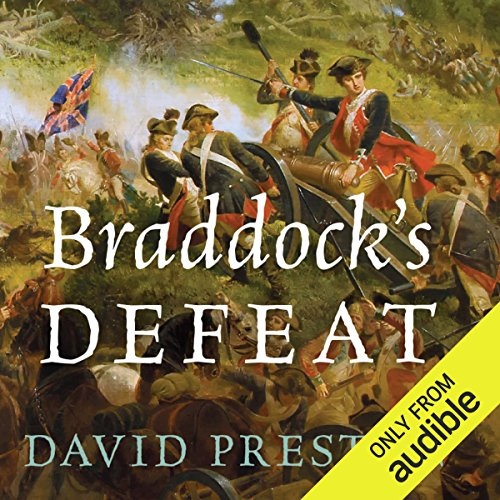 Braddock's Defeat audiobook cover art