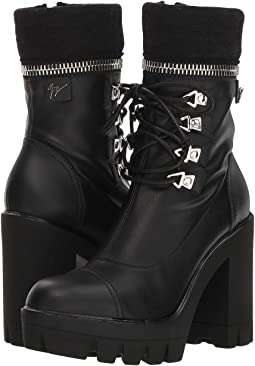 Zip Top Combat Boot