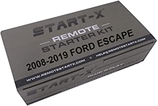 Start-X Remote Starter Kit for Ford Escape 2008-2019 || Plug n Play || 2008 2009 2010 2011 2012 2013 2014 2015 2016 2017 2... photo