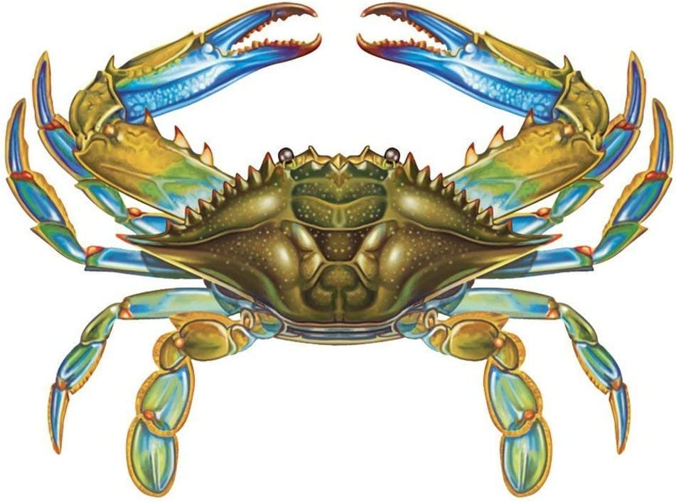 Cheap SALE Start Blue Crab Porcelain Swimming Pool Mosaic New product x 8