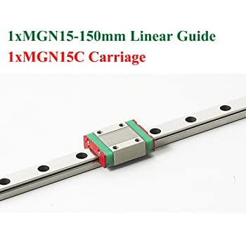 1PCS 15mm Miniature Linear Guide MGN15 L200mm Linear Rail With 1pcs MGN15H Block