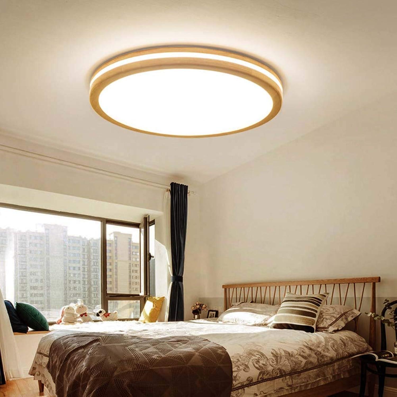 SXFYWYL LED Runde Deckenleuchte Moderne Deckenleuchte Einfache Leuchte Flur Wohnzimmer Schlafzimmer Küche,Weißlight 40cm