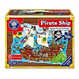Orchard Toys Caribe Puzle (100 Piezas), diseño de Barco Pirata, 6+ (228)