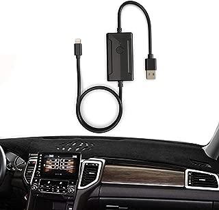 Car USB Dongle Digital Audio Adapter for Nissan Infiniti, External Music Model with Pod Phone 8p Interface for Q50 Q30 QX80 QX70 QX60 QX50 QX30 M37 M56, 2014-2018,