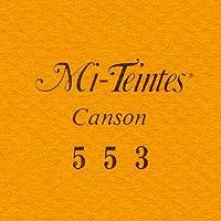 マルマン 色画用紙 キャンソン ミタント ポストカードサイズ 553 カドミウムイエローディープ 50枚 POST553P 【まとめ買い3冊セット】