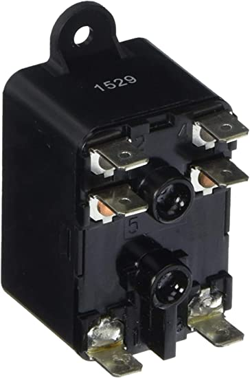 Amazon.com: Emerson 90 380 Fan Relay 24 Volt Coil, 1: Home Improvement   Relay Wiring Diagram 90 380 Heavy Duty      Amazon.com