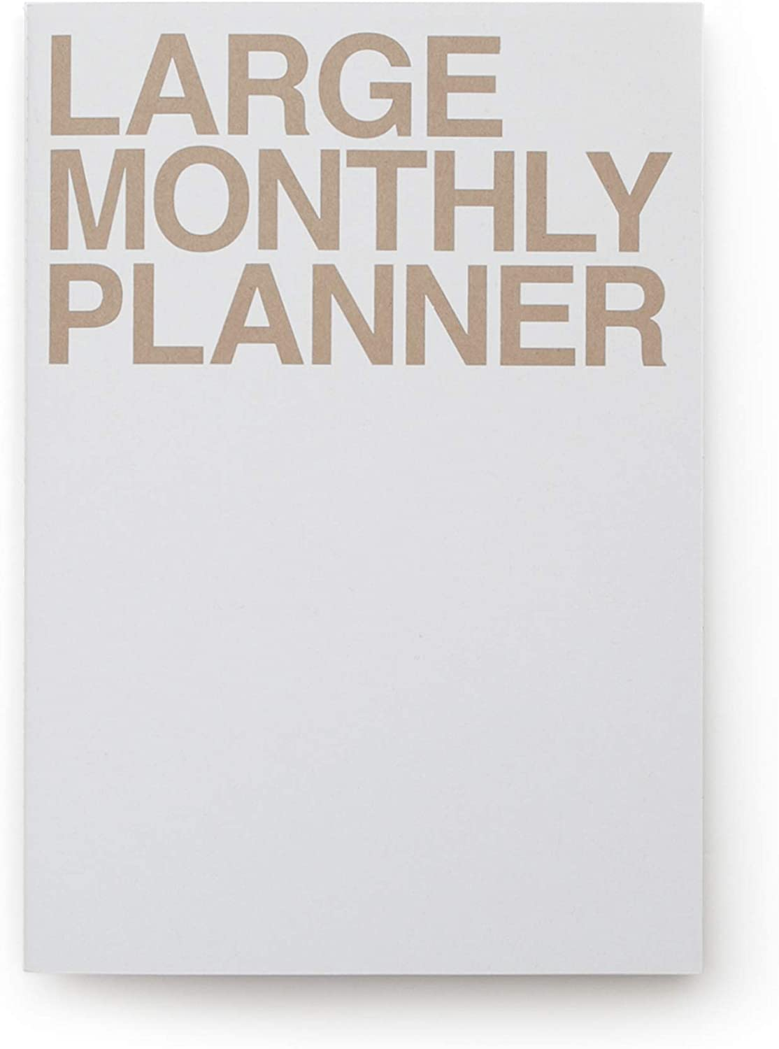 Don't miss the campaign JSTORY Large Monthly Planner Lays Undated New Free Shipping Flat Flexib Round Year
