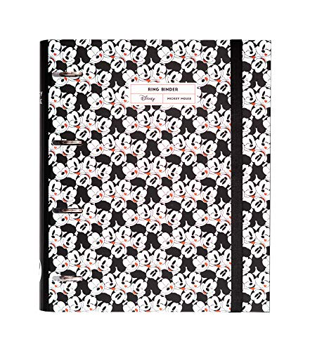 Grupo Erik - Carpeta 4 anillas troquelada premium Mickey Mouse It´s a Mickey thing