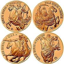 Jig Pro Shop Four Horsemen of The Apocalypse Series 1 oz .999 Pure Copper Round/Challenge Coin