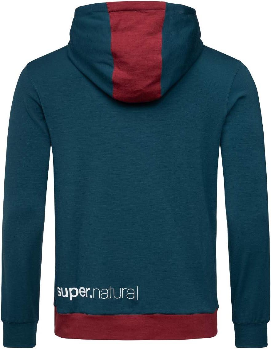 Supernatural Movement Half Zip Longsleeve Homme Legion Blue/Cabernet