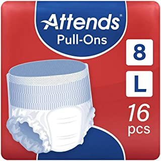 Attends Pull Ons 8, Large, Pack of 16