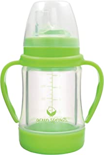 glass baby sippy cup