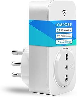 Presa Wifi Italiana 16A 3680W Smart Plug Intelligente Spina Energy Monitor, Funzione Timer, APP Controllo Remoto, Compatib...