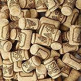 Premium Bulk Wooden Wine Corks 150 Pack Natural Wine Corks Craft Corks Excellent for Crafting & Decor 7/8' x 1-9/16'(22...
