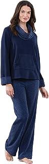 PajamaGram Super Soft Pajamas for Women - Fleece Pajamas...