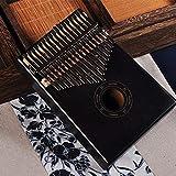 FEE-ZC 17 Teclas Caoba Kalimba, Pulgar Piano Cuerpo Instrumento Musical Tradicional Mejor Calidad y Precio fácil de Usar (Color: Caballo Azul)