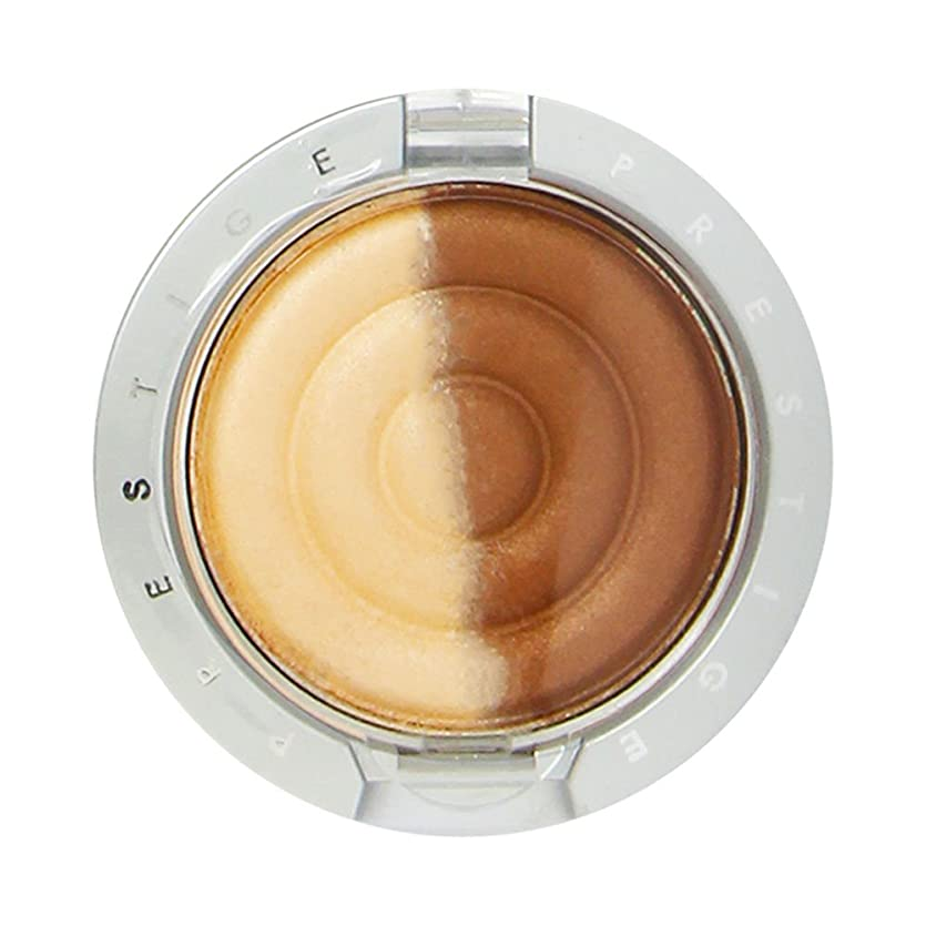 敬意を表して会話戦争PRESTIGE SHADOW DUO EYE SHADOW #CD-17 SISAL