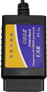 Zerama Soporte de Interfaz V04HU-1 Vehículo de diagnóstico del escáner Lector de código de