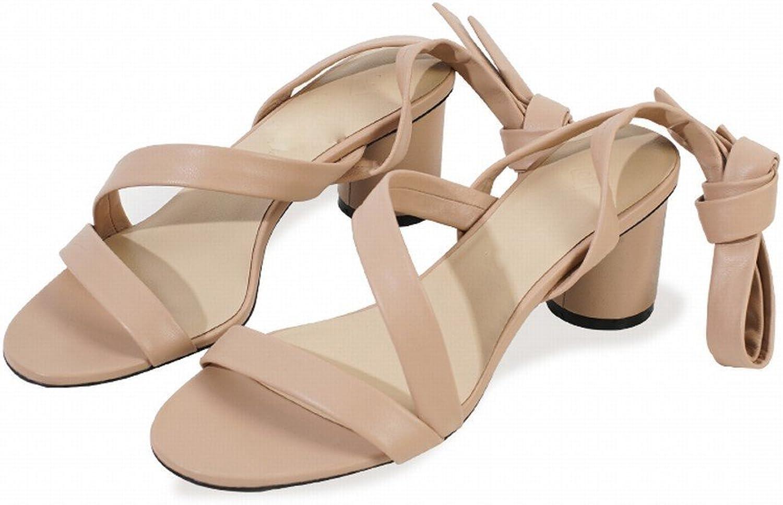 DHG Sommer Einfache Ballett Riemen mit Freiliegenden Finger Sandalen,EIN,36 Sandalen,EIN,36 Sandalen,EIN,36  d41d28