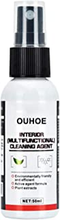 OUHOE 50ml Multifunctional Car Interior Cleaning Agent Automobile Dry Cleaning Detergent