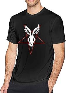 Mr Bungle Hombre Camisa de Manga Corta Casual Crewneckshirtsformen Graphic Tees Camisas Tops