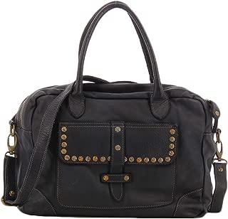Civico 93 black bag with studs