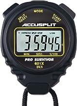 ACCUSPLIT Pro Survivor - A601X Cronómetro, Reloj, Pantalla