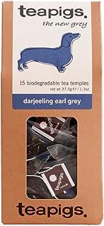 Teapigs Darjeeling Earl Grey Teebeutel mit Ganzen Blättern 1 Packung mit 15 Teebeuteln