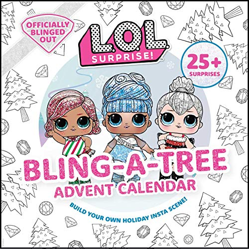 L.O.L. Surprise! Bling-A-Tree Advent Calendar: (l.O.L. Gifts for Girls Aged 6+, Lol Surprise, Trim a Tree, Craft Kit, 25+ Surprises)