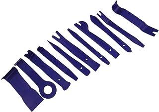 Wakauto Conjunto de ferramentas de remoção de acabamento de painel de porta, 11 peças de ferramentas de remoção de clipes ...