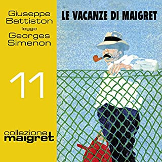 Le vacanze di Maigret audiobook cover art