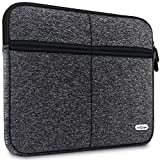 AirCase C20 13-Inch to 13.3-Inch Laptop Sleeve, Premium, Designer, 6-MultiUtility Pockets (Charcoal Black)