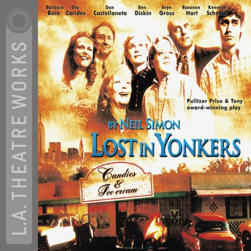 Lost in Yonkers audiobook cover art