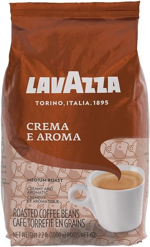 Lavazza Crema E Aroma Whole Bean Coffee Blend Medium Roast 2 2 Pound Bag